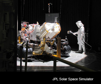 JPL Solar Space Simulator